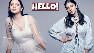 Anushka Sharma Photoshoot For Hello Magazine | Elegance Personified