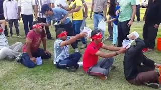 Comedy | Funny game on new year event at safa park