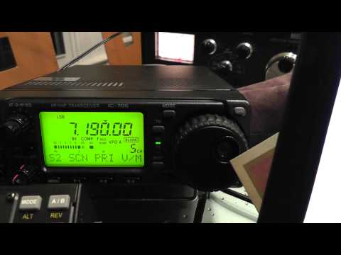 Barcelona Spain, EA3JE 7.190 MHZ SSB Ham Radio DX Contact