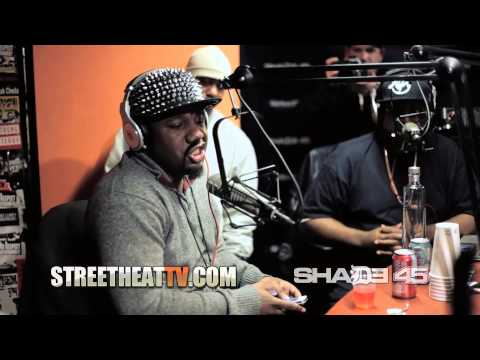 "Murda Mook Kills a ""Freestyle"" at Shade45 with DJKaySlay"