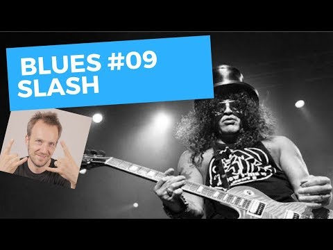 Lick #09 - Plan Blues - Slash - Cours De Guitare Solo