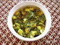 Hare Pyaaz Ki Sabzi (Onion Greens Vegetable)