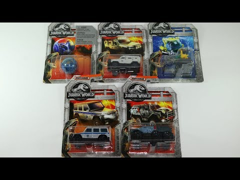 Matchbox Jurassic World Cars Gyrosphere Submarine