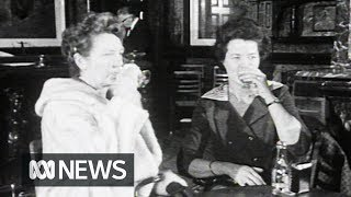Women finally allowed to drink at Marble Bar (1967) | RetroFocus