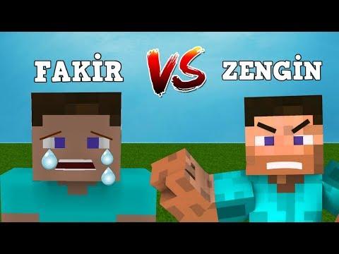 ZENGİN VS FAKİR HAYATI #28 - Minecraft Dizisi