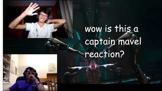 CAPTAIN MARVEL TRAILER [OFFICIAL REACTION]! - MARVEL STUDIOS (FIRST TIME WATCHING)