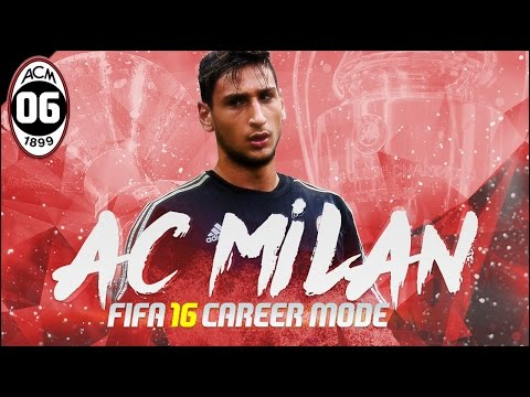 FIFA 16 | AC Milan Career Mode Ep6 - FIRST MILAN DERBY!!