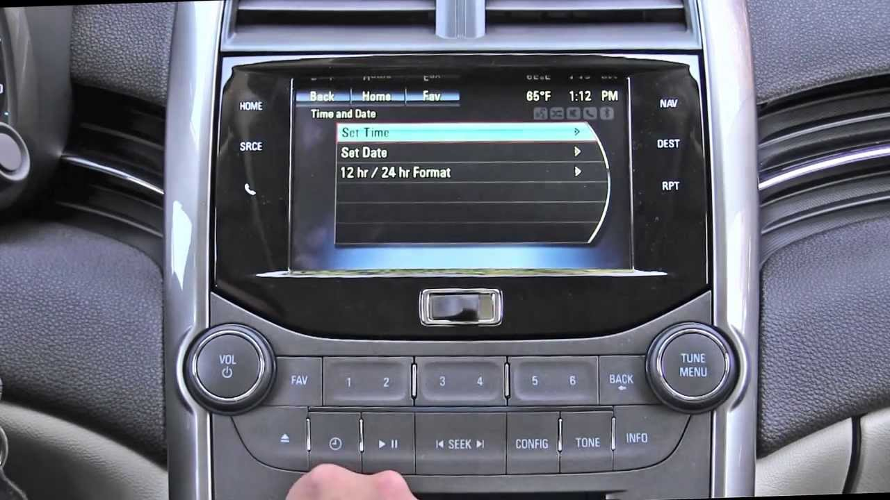 2013 Chevrolet Mylink Infotainment System Review Spark