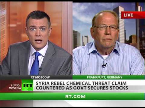 Hype over Syria chemicals 'deja-vu & old Pentagon scenario to oust regime'