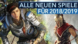 Die neuen Spiele der E3 2018 - Top 40 Titel für 2018 und 2019