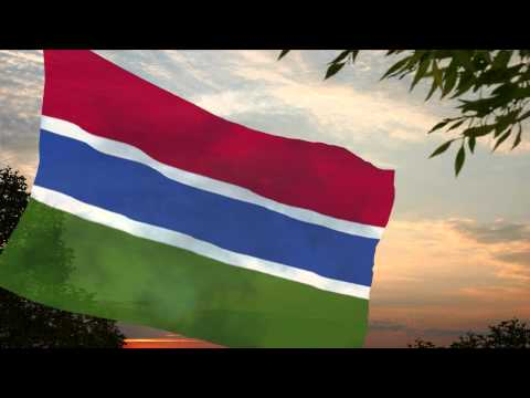 National Anthem of Gambia ✪ L'hymne national de la Gambie (Nationalhymne Gambia)