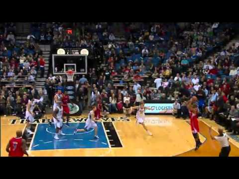 Butler's Taunting Buzzer Beater | Clippers vs Timberwolves  | NBA 2012-13 Season 30/01/2013
