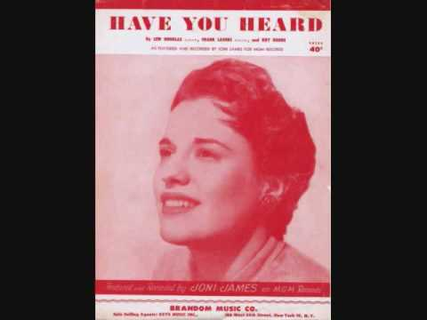 Joni James - Have You Heard (1953)
