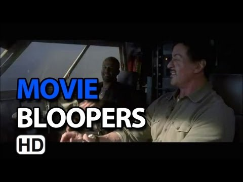 The Expendables 2 (2012) Bloopers Outtakes Gag Reel video