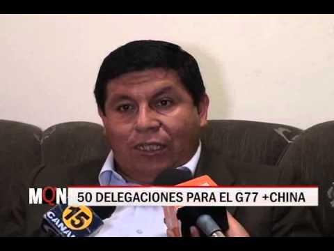 26/11/2014-19:19  50 DELEGACIONES PARA EL G77 +CHINA