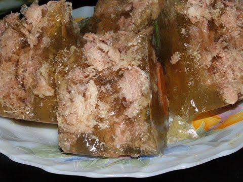 Как сварить вкусный холодец из свинины пошаговый рецепт