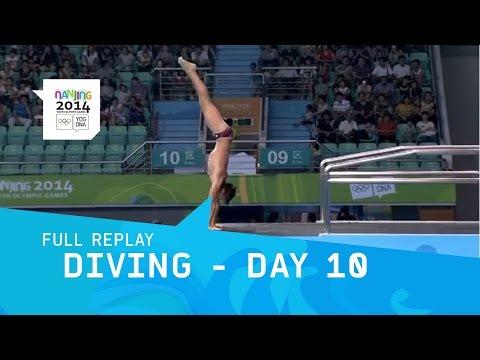 Diving - Day 10 Men's 10m platform Final | Full Replay | Nanjing 2014 Youth Olympic Games