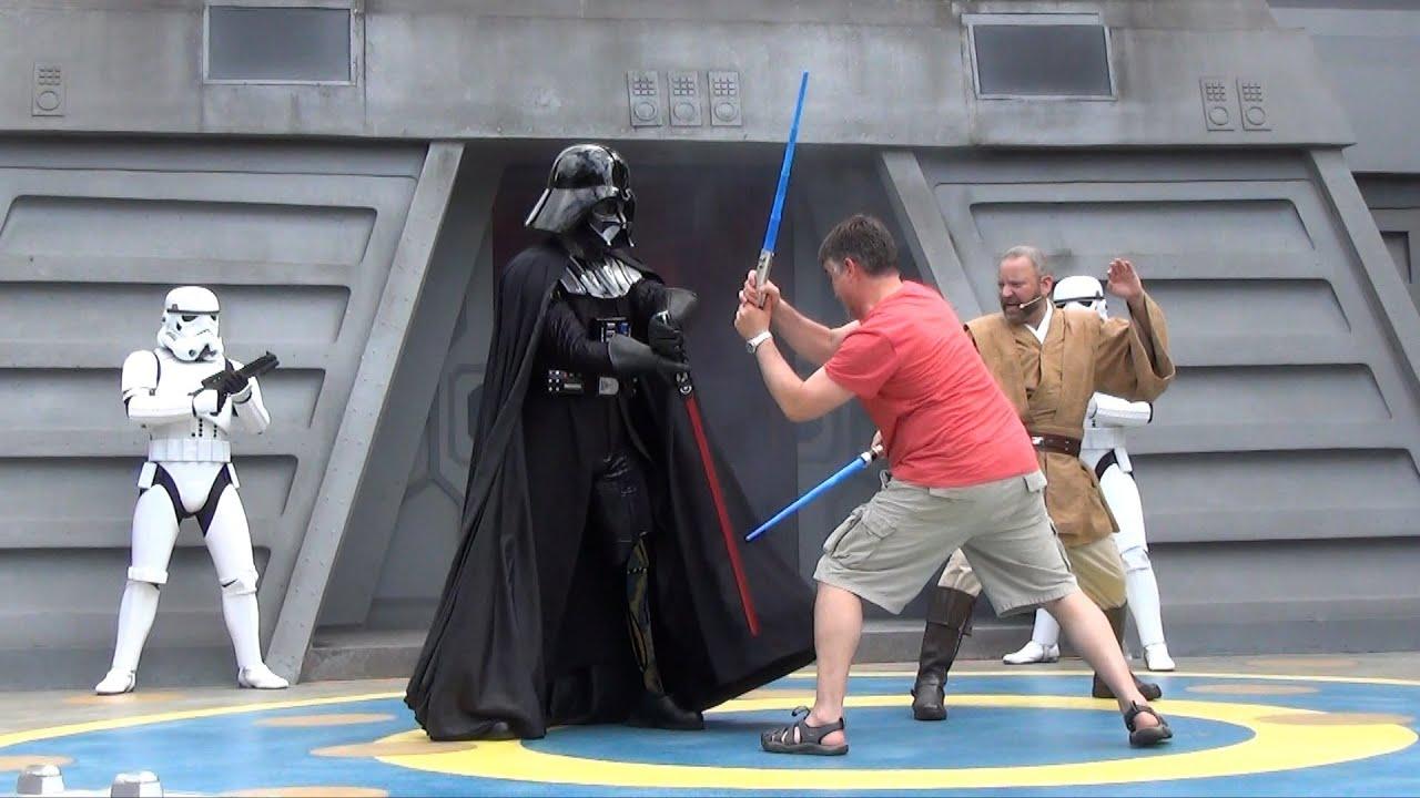 Star Wars Jedi Training Academy With Adults Disney