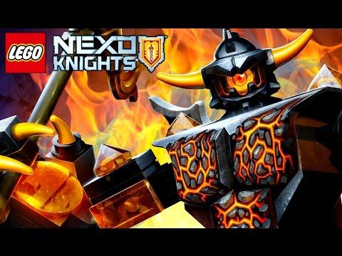 ТЯГАЧ АКСЕЛЯ ! Lego Nexo Knights Игра про Мультики Лего Нексо Найтс на русском языке