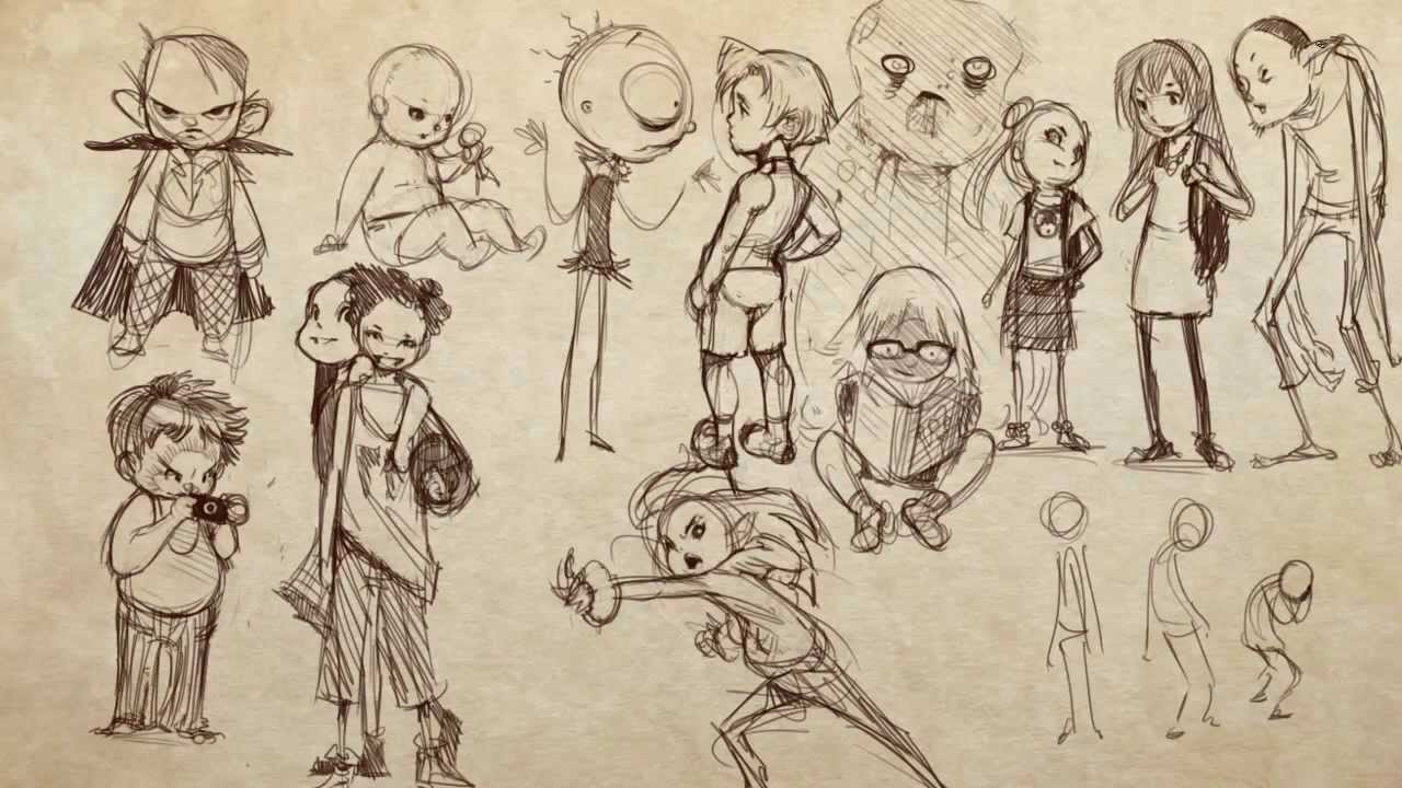 How to Draw Children and Teens - Part 3 of 3 - YouTube