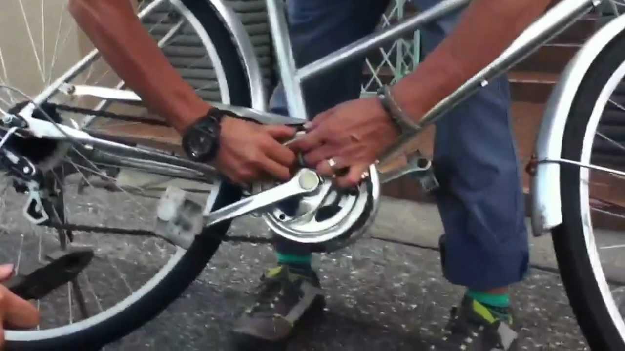 自転車チェーン直し方講座 ...