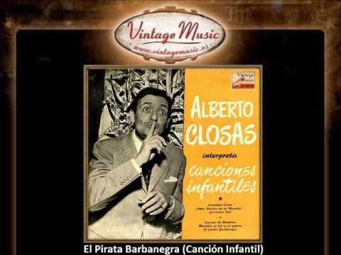 Alberto Closas -- El Pirata Barbanegra (Canción Infantil) (VintageMusic.es)