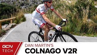 Dan Martin's Custom Colnago V2R Tour de France Race Bike   Team UAE Emirates Pro Bike