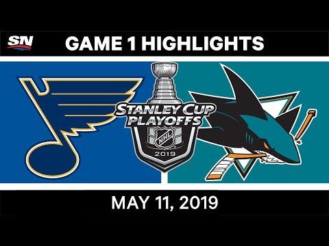 NHL Highlights   Blues Vs. Sharks, Game 1 – May 11, 2019