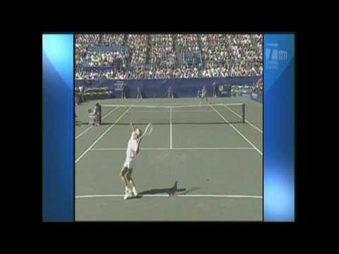 ナブラチロワ Vs セレス(セレシュ) 91 全米オープン  Death Of Serve & Volley