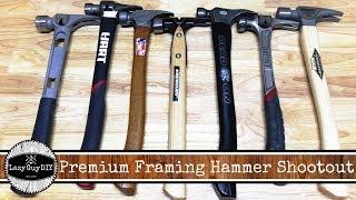 Premium Framing Hammer Shootout