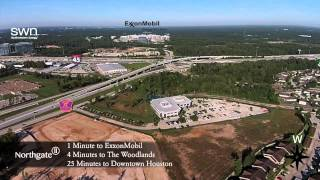 Northgate II Office Complex Aerial View in North Houston (Spring, TX)