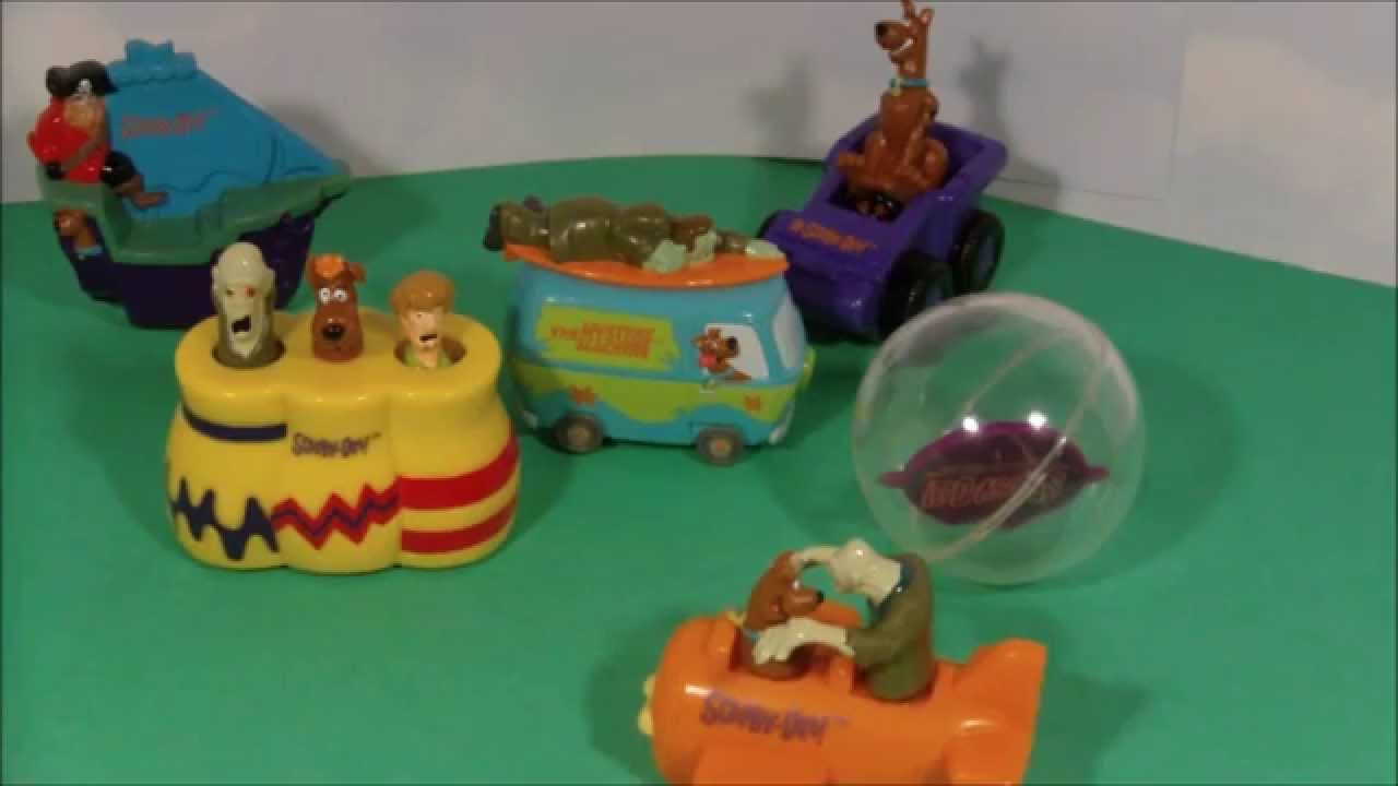 Dairy Queen Toys : Scooby doo dairy queen kids meal cartoon network play set