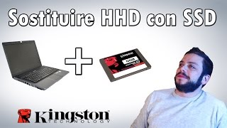 Come sostituire Hard-Disk con un SSD - Test Boot HP530