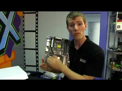 Gigabyte Z77X-UP5 TH Dual Thunderbolt Motherboard Unboxing