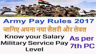 download lagu Army Pay Rules 2017_जानिए अपना नया वेतन और लेवल gratis
