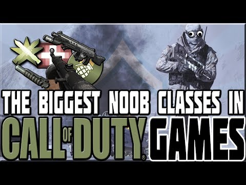 BIGGEST NOOB CLASSES IN CALL OF DUTY GAMES!