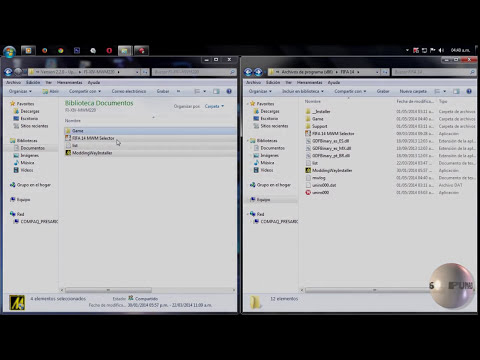 Tutorial | Instalar Parches ModdingWay AIO 3.0.0 | FIFA14 HD 2014 ✔