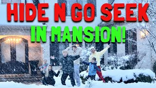 CRAZY Hide N Go Seek Inside MANSION!