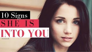 10 Psychological Signs a Girl Likes You | How to tell if She Likes Me?