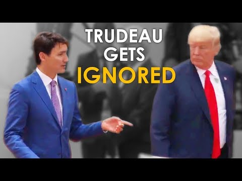 Justin Trudeau Gets IGNORED By Trump at The G20 Summit What He SHOULD Have Done