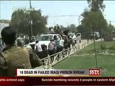 Iraq: 18 dead in failed prison break