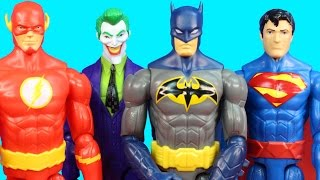 Imaginext Joker Supersizes Batman Superman Flash With Magical Wand Epic Martial Arts Battle