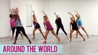 Natalie La Rose - Around The World ft. Fetty Wap (Dance Fitness with Jessica)