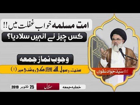 Ummat e Muslima khwab e Ghaflat mai, Waja kia hai?  | Ustad e Mohtaram Syed Jawad Naqvi