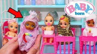 Unicorn Baby Born Surprise ! Toys and Dolls Pretend Play for Kids | SWTAD