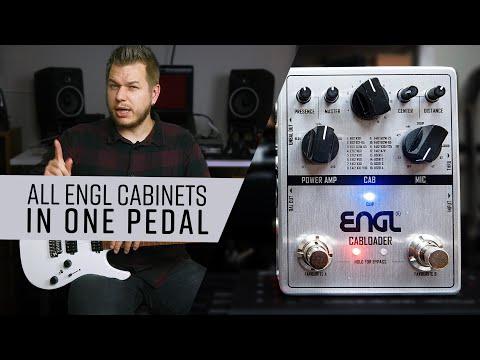 ENGL Cabloader IR Pedal   In-depth Demo