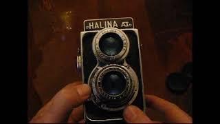 Halina AI 120 TLR Twin Lens Reflex Medium Format Film Camera