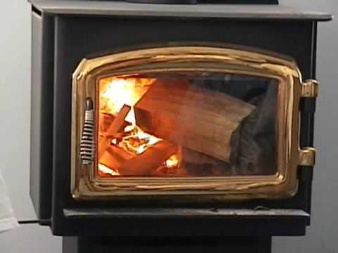 Starting A Fire In My Regency Stove Part1