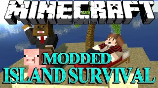 Minecraft Survival Island Mods Ep. 9