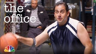 Dunder Mifflin Plays Basketball - The Office